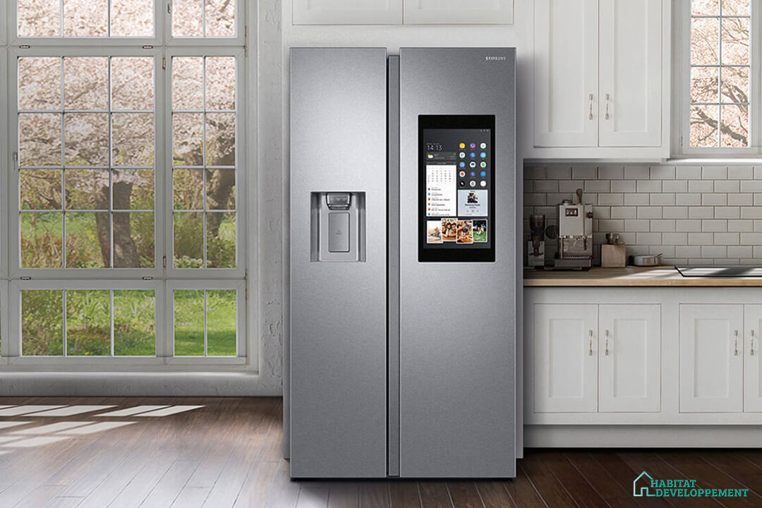 habitat developpement frigo americain samsung