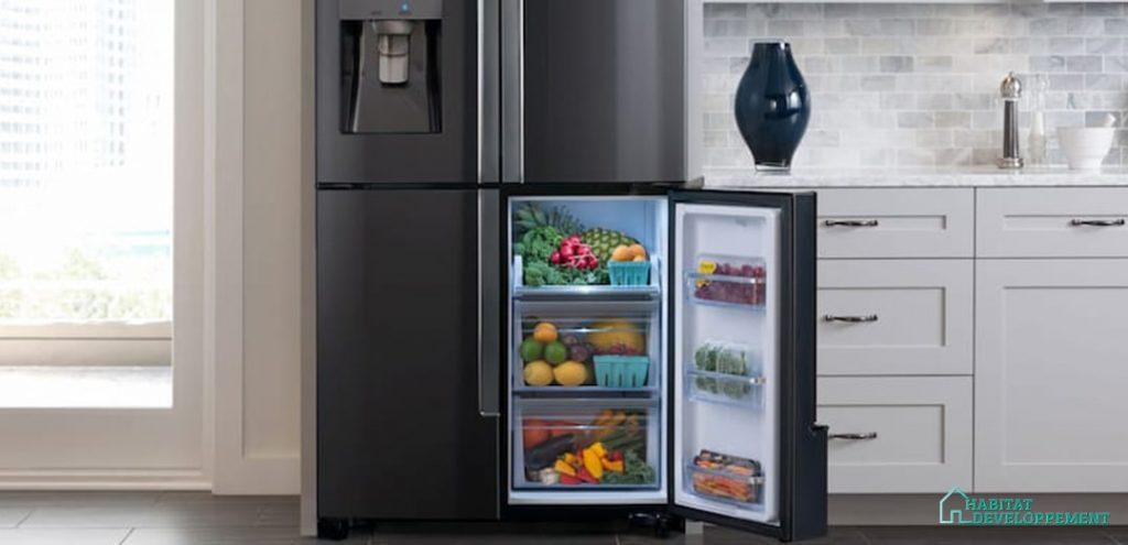 frigo multi-portes congelateur