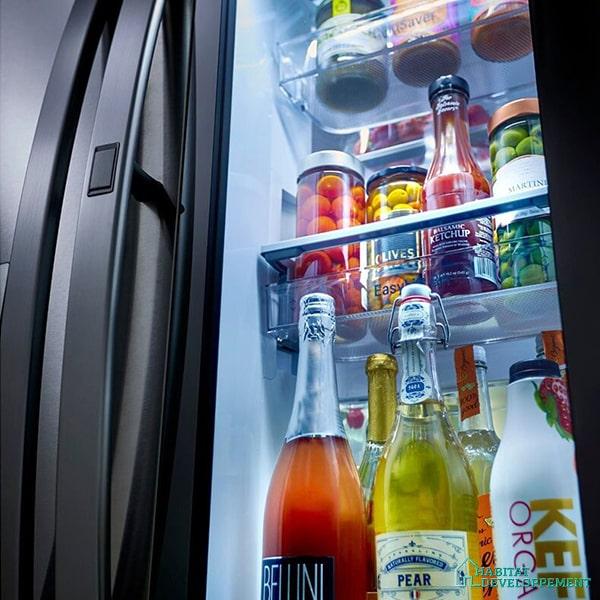 frigo multi-portes lg instaview