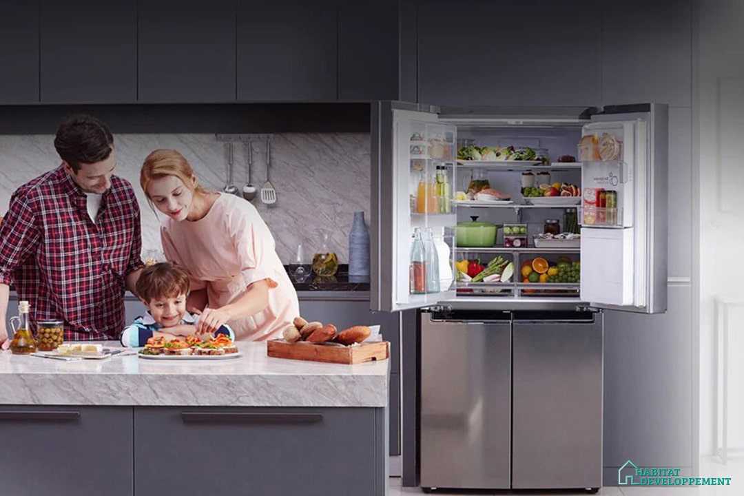 frigo multi-portes