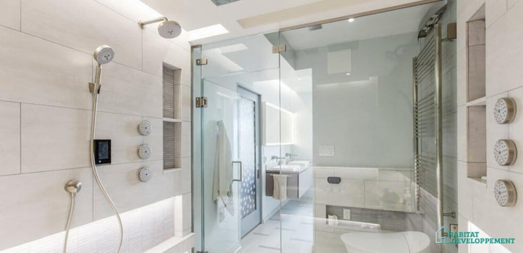 colonne de douche luxe