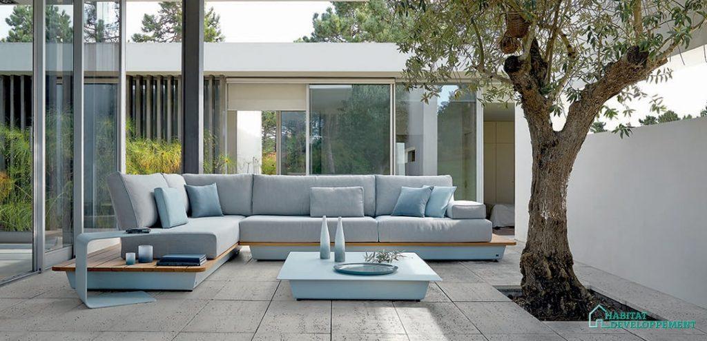 salon de jardin terrasse