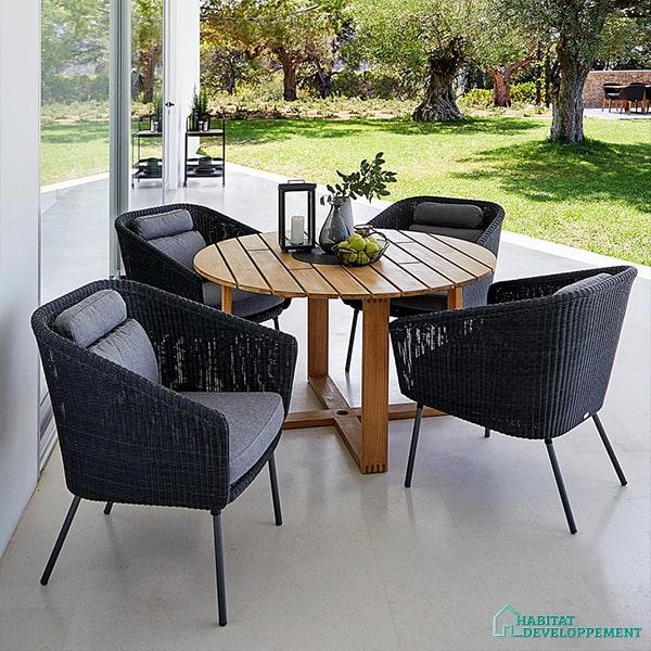 salon de jardin chaises
