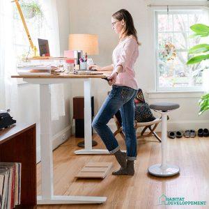bureau assis-debout poids maximum